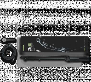SHURE SM58-KM-SOM SM58-LCE, K&M mikrofon állvány és Sommer Cable 6m XLR-XLR kábel csomag