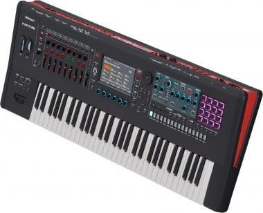 Roland FANTOM-6 szintetizátor 61 súlyozott billentyű zenei munkaállomás ZEN-Core V-PIANO hangforrás