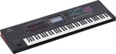 Roland FANTOM-7 szintetizátor 76 súlyozott billentyű zenei munkaállomás ZEN-Core V-PIANO hangforrás