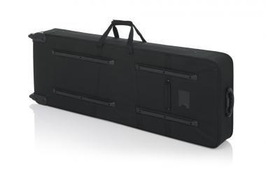 Gator GK-76 Könnyű, EPS szivacsos, merev keyboard táska kerékkel, 76 billentyűs hangszerhez