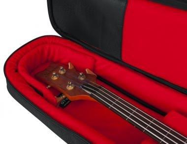 Gator GT-BASS-BLK Transit puhatok basszusgitárhoz, merev belső kialakítás, 20 mm vastag bélés, homok