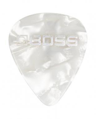 BOSS BPK-WT celluloid pengető thin white pearl - fehér