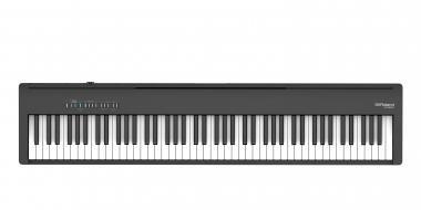 Roland FP-30X-BK digitális zongora 2 hangszórós,128 hang polifónia - állvány nélkül - fekete