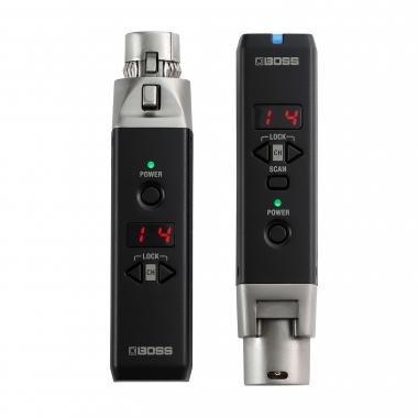 BOSS WL-30XLR vezeték nélküli rendszer dinamikus mikrofonhoz