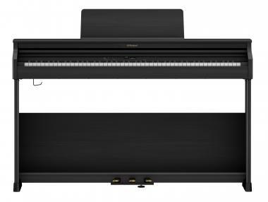 Roland RP701-CB digitális zongora 2 hangszórós, 256 hang polifónia, szekrényes - modern fekete