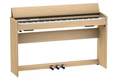 Roland F701-LA digitális zongora 2 hangszórós PHA-4 billentyűzet 256 hang polifónia - tölgy szín