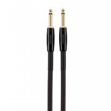 BOSS BIC-P18 18ft / 5,5m jack-jack kábel egyenes-egyenes TR 6,3mm, prémium minőségű hangszerkábel