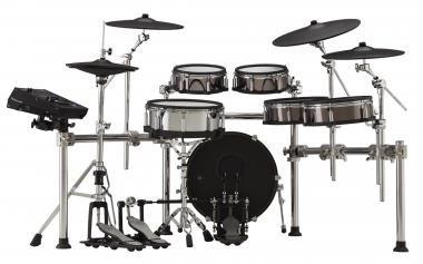 Roland V-Drums hálóbőrös elektromos dobszett + MDS-STG2 dobkarám