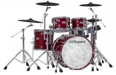 Roland VAD706-GC V-Drums Acoustic Design elektromos dobszett - lakkozott cseresznye színben