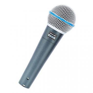 SHURE BETA 58A Dinamikus énekmikrofon, szuperkardioid karakterisztika
