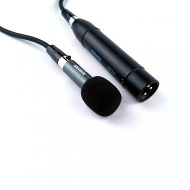 SHURE BETA 98AD/C Dob mikrofon, BETA98 kondenzátor mikrofon, kardioid karakterisztika, A98D tartó
