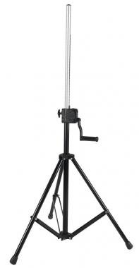DIE HARD DHSS20 Fény / Hangfal állvány tekerős fekete, fém-alumínium, m:1400-2200 mm, d:35 mm, max: