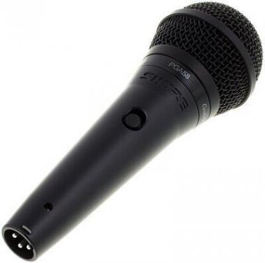 SHURE PGA58-QTR-E Dinamikus mikrofon, kapcsoló, XLR-Jack (1/4