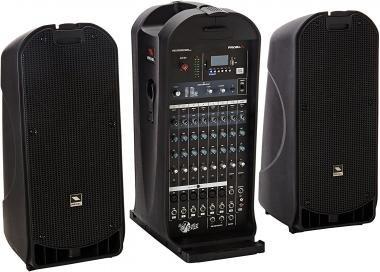 PROEL FREEPACK812 Aktív kétutas hangfal szett keverő, MP3 játszó, 8x12