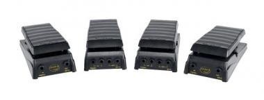 PROEL GF16L Pedál, Expression, hangerő, mono, ABS, galvanizált alap, fekete, 6,3 jack, 1,2m kábel