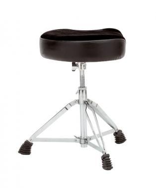 PROEL SGB155 Dobszék króm, ülőke: 420 x 370 mm, m:480-615 mm, terhelés max:120 kg