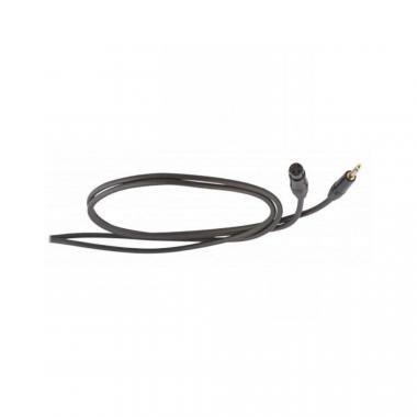 DIE HARD DHS210LU1 mikrofon (jel)kábel, 1 m, szimmetrikus, ONEHERO 6,3mm sztereó jack dugó - 3P XLR