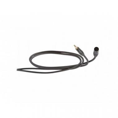 DIE HARD DHS230LU05 mikrofon (jel)kábel, 0,5 m, szimmetrikus, ONEHERO 6,3mm sztereó jack dugó - 3P X