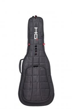 DIE HARD DHZEGB elektromos gitár tok, 35mm vastagság, fekete