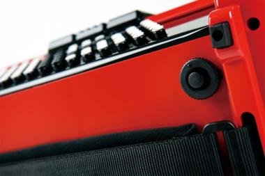 Roland FR-1XB RD digitális tangóharmonika beépített hangszóróval gombos - piros