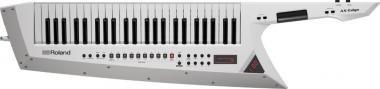 Roland AX-EDGE-W szintetizátor 49 billentyű hordozható Keytar - fehér