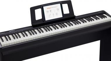 Roland FP-10-BK digitális zongora 2 hangszórós PHA-4 billentyűzet,96 hang polifónia - állvány nélkül