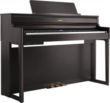 Roland HP704-DR SET digitális zongora 4 hangszórós PHA-50 billentyűzet,324 hang,384 hang polifónia -