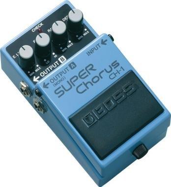 BOSS CH-1 Super Chorus effekt pedál