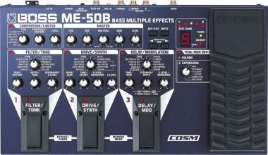 BOSS ME-50B basszusgitár multieffekt pedál
