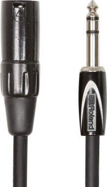Roland RCC-10-TRXM 10ft / 3m Interconnect kábel 6,3mm TRS jack-XLR(PAPA) kábel