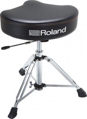 Roland RDT-SHV dobszék vinyl borítással és hidraulikus magasság állítás nyereg forma