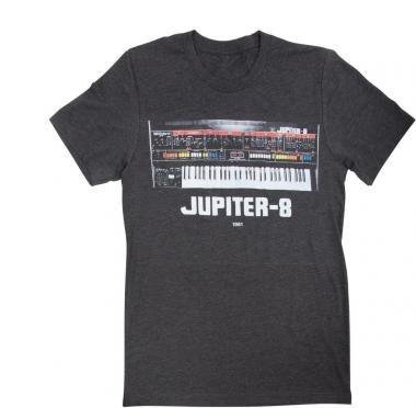 Roland CCR-JP8TL JUPITER-8 Crew póló LG - szürke