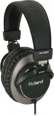 Roland RH-300 sztereó fejhallgató aluminium házban