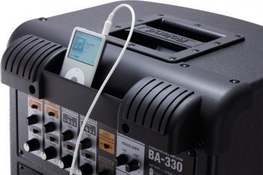 Roland BA-330 sztereó erősítő elemmel is működik 30W 4X6,5