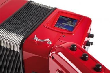 Roland FR-8X RD digitális tangóharmonika beépített hangszóróval - piros