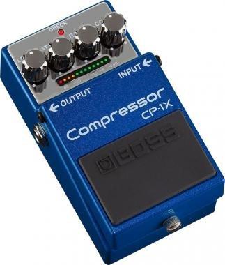 BOSS CP-1X Compressor effekt pedál speciális kiadású prémium hanggal