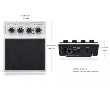 Roland SPD-1P ütőhangszer ütős hangszínek