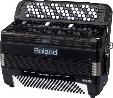 Roland FR-5B GREY digitális tangóharmonika beépített hangszóróval gombos - szürke